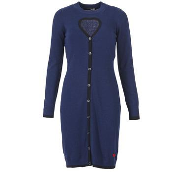 Kleidung Damen Kurze Kleider Love Moschino PESCARI Marine