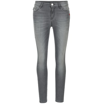 Kleidung Damen Slim Fit Jeans Love Moschino MANI Grau