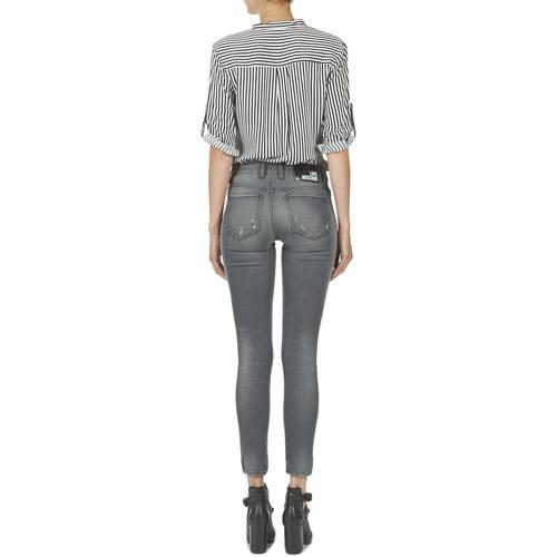 Love Moschino MANI Grau - Kostenloser Versand |  - Kleidung Slim Fit Jeans Damen 19872 QrWqW