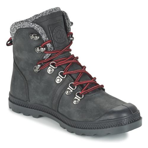 Palladium PALLABROUSSE HIKING Schwarz  Schuhe Boots Damen 95,96