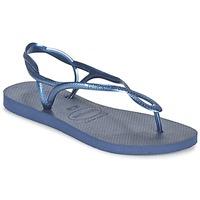 Schuhe Damen Sandalen / Sandaletten Havaianas LUNA Blau / Marine