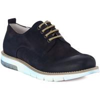 Schuhe Herren Richelieu Pawelk's PAWELKS CAMOSCIO EXEL Blu