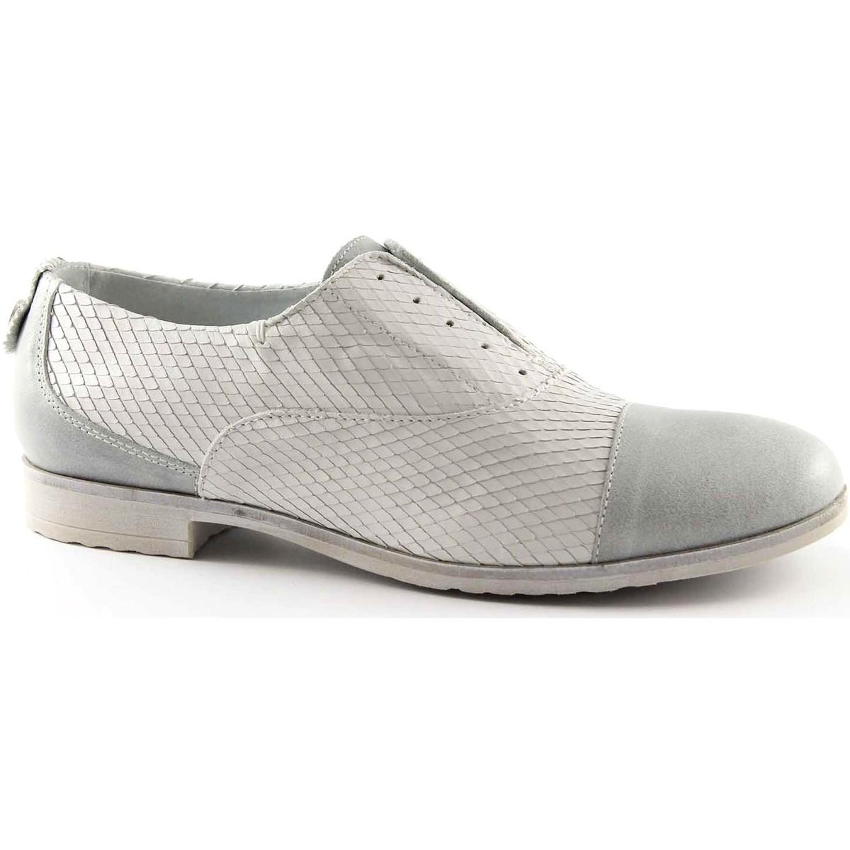 Café Noir CAF NOIR EB630 weiße Schuhe Ice Spitze Brogues ohne Schnürsenkel Bianco - Schuhe Richelieu Damen 103,20 €