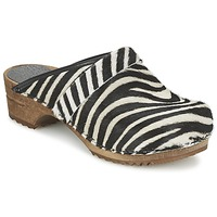 Schuhe Damen Pantoletten / Clogs Sanita CAROLINE Olive / Gelb
