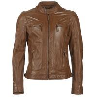 Kleidung Herren Lederjacken / Kunstlederjacken Oakwood 60901 Cognac