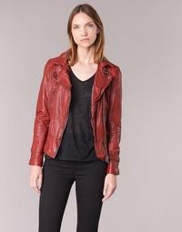 Kleidung Damen Lederjacken / Kunstlederjacken Oakwood 62065 Rot