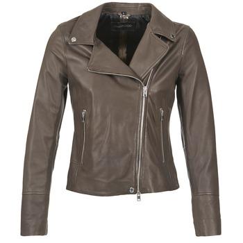 Kleidung Damen Lederjacken / Kunstlederjacken Oakwood 62049 Grau