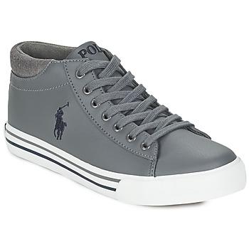 Schuhe Jungen Sneaker High Ralph Lauren HARRISON MID Grau
