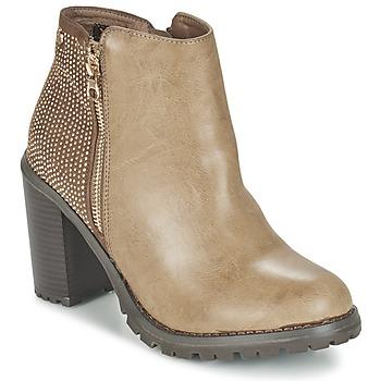 Schuhe Damen Low Boots Xti LOUNI Maulwurf