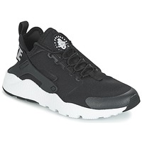 Schuhe Damen Sneaker Low Nike AIR HUARACHE RUN ULTRA W Schwarz / Weiss
