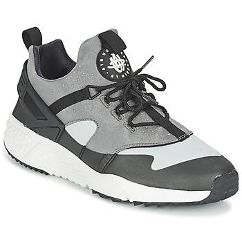 Schuhe Herren Sneaker Low Nike AIR HUARACHE UTILITY Grau