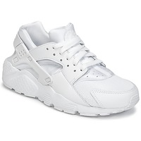 Schuhe Jungen Sneaker Low Nike HUARACHE RUN JUNIOR Weiss