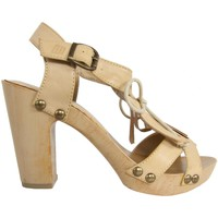 Schuhe Damen Sandalen / Sandaletten MTNG 53251 Beige