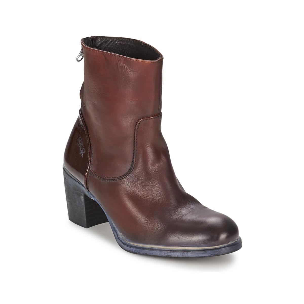 BKR LOLA Braun - Kostenloser Versand bei Spartoode ! - Schuhe Low Boots Damen 87,50 €