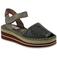 Schuhe Damen Sandalen / Sandaletten Wrangler Campesina  spuntata zeppa palm kong diamond wedge