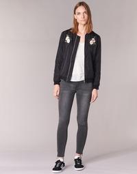 Kleidung Damen Slim Fit Jeans Yurban FABANE Grau