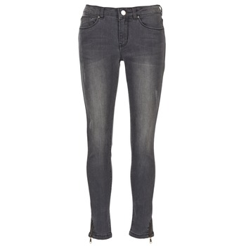Kleidung Damen Slim Fit Jeans Moony Mood IFABANE Grau