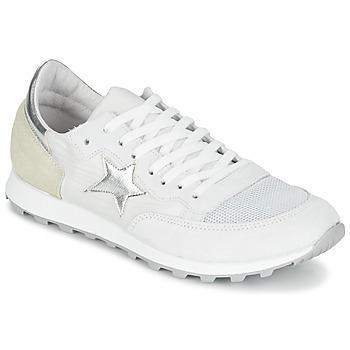 Schuhe Damen Sneaker Low Yurban FILLIO Weiss / Beige