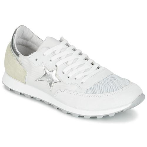 Yurban FILLIO Weiss / Beige  Schuhe Sneaker Low Damen 51,99