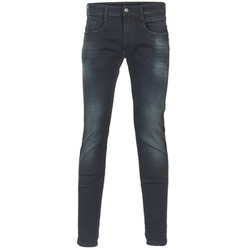 Kleidung Herren Slim Fit Jeans Replay ANBASS Blau