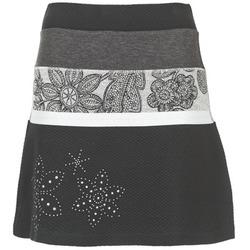 Kleidung Damen Röcke Desigual REVUNE Schwarz / Grau