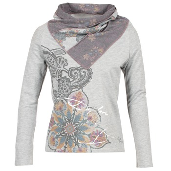 Kleidung Damen Sweatshirts Desigual CASMIBA Grau