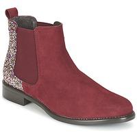 Schuhe Damen Boots Betty London FREMOUJE Bordeaux