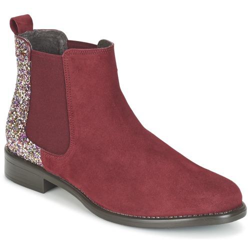 Betty London FREMOUJE Bordeaux - Kostenloser Versand       - Schuhe Stiefel Damen 51,99