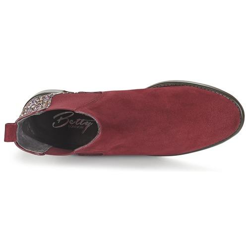 Betty London FREMOUJE Bordeaux Bordeaux Bordeaux  Schuhe Stiefel Damen 534c44