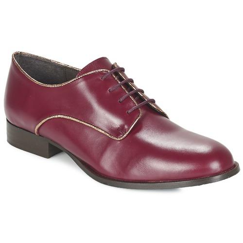 Betty London FLOJE Bordeaux Schuhe Derby-Schuhe Damen 37,50