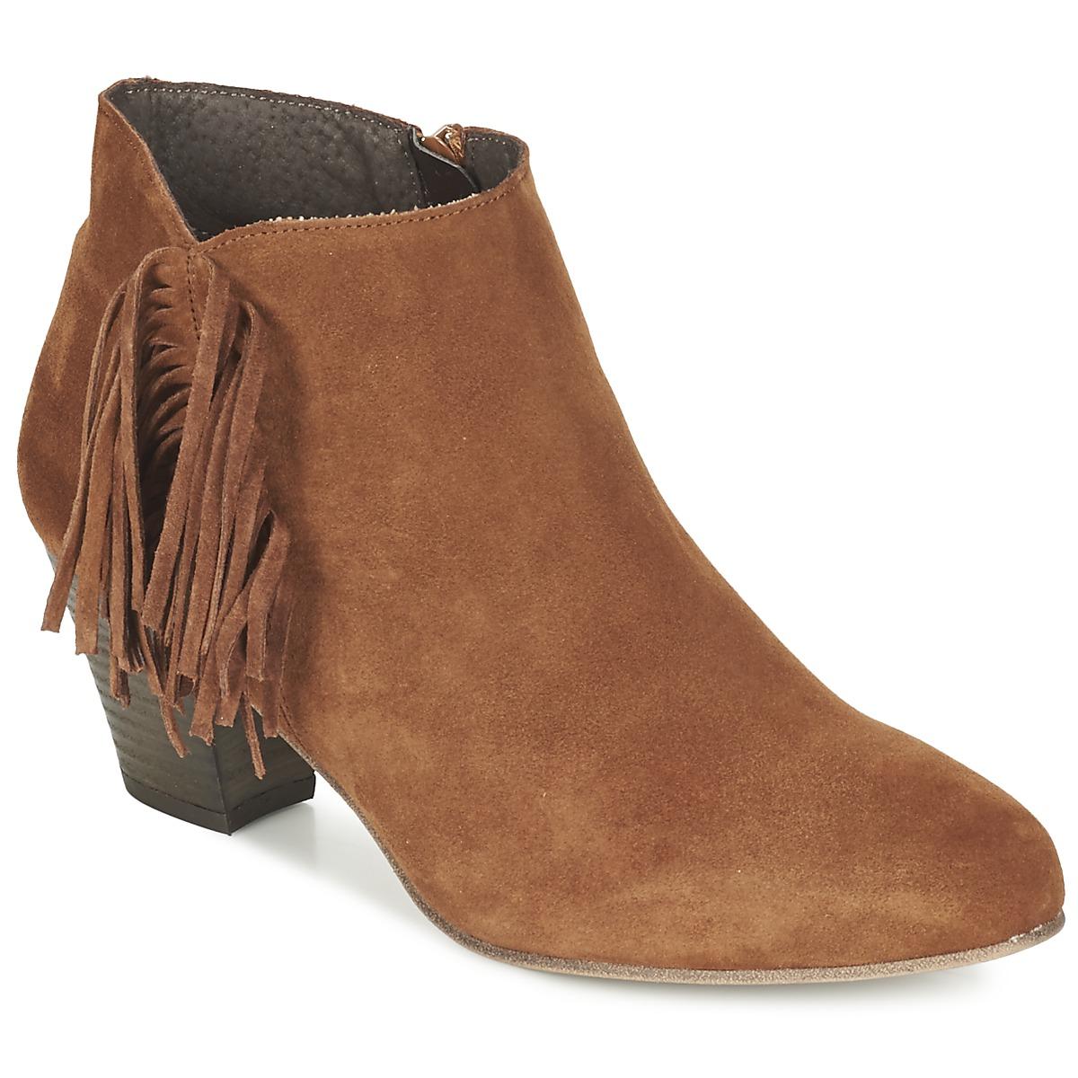 Betty London FIANIDE Noisette - Kostenloser Versand bei Spartoode ! - Schuhe Low Boots Damen 47,50 €