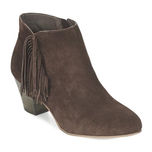 Betty London FIANIDE Braun  Schuhe Niedrig Stiefel Damen 75,99