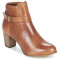 Schuhe Damen Low Boots Betty London FAZELLE Camel