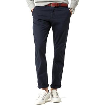 Kleidung Herren 5-Pocket-Hosen Tommy Hilfiger DENTON CHINO ORG STR TWILL blue