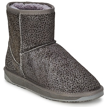 Schuhe Damen Boots Booroo MINNIE LEO Grau / Beige / Marine