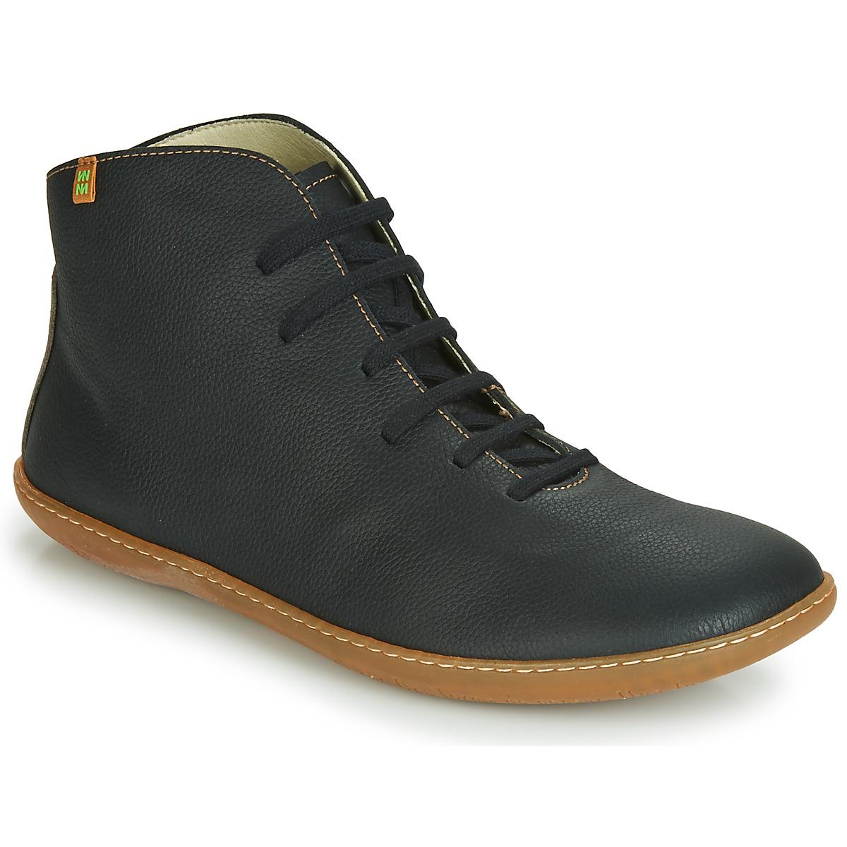 El Naturalista EL VIAJERO Schwarz - Kostenloser Versand bei Spartoode ! - Schuhe Boots  125,00 €