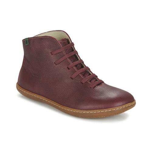 El Naturalista EL VIAJERO Bordeaux  Schuhe Boots Damen 125