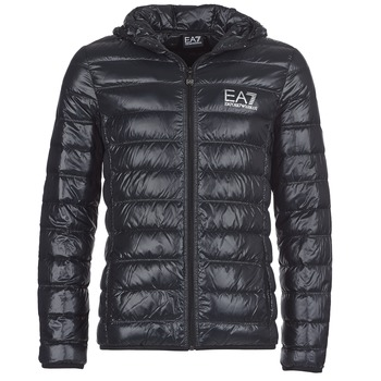 Kleidung Herren Daunenjacken Emporio Armani EA7 ANDOURALO Schwarz
