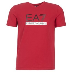 Kleidung Herren T-Shirts Emporio Armani EA7 MOFRAGO Rot