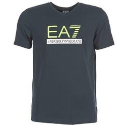 Kleidung Herren T-Shirts Emporio Armani EA7 JANTLOA Marine