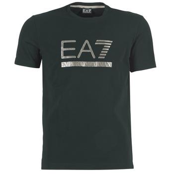 Kleidung Herren T-Shirts Emporio Armani EA7 MAGGAROL Schwarz