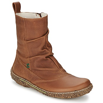 Schuhe Damen Boots El Naturalista NIDO Braun
