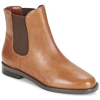 Schuhe Damen Boots Ralph Lauren BELVA Cognac