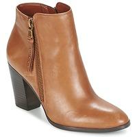 Schuhe Damen Ankle Boots Ralph Lauren FAHARI Cognac