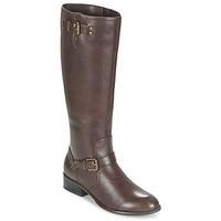 Schuhe Damen Klassische Stiefel Ralph Lauren MARRONA Braun