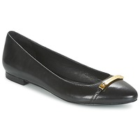 Schuhe Damen Ballerinas Ralph Lauren FARREL-FLATS-CASUAL Schwarz