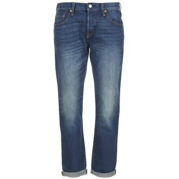 Kleidung Damen Boyfriend Jeans Levi's 501 CT Indigo