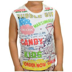 Kleidung Jungen Tops Geox Canotta t-shirt