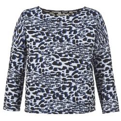 Kleidung Damen Pullover See U Soon SAVERIA Grau / Schwarz / Blau