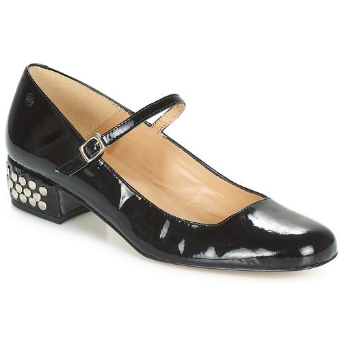 Betty London FOTUNOU Schwarz Schuhe Ballerinas Damen 45